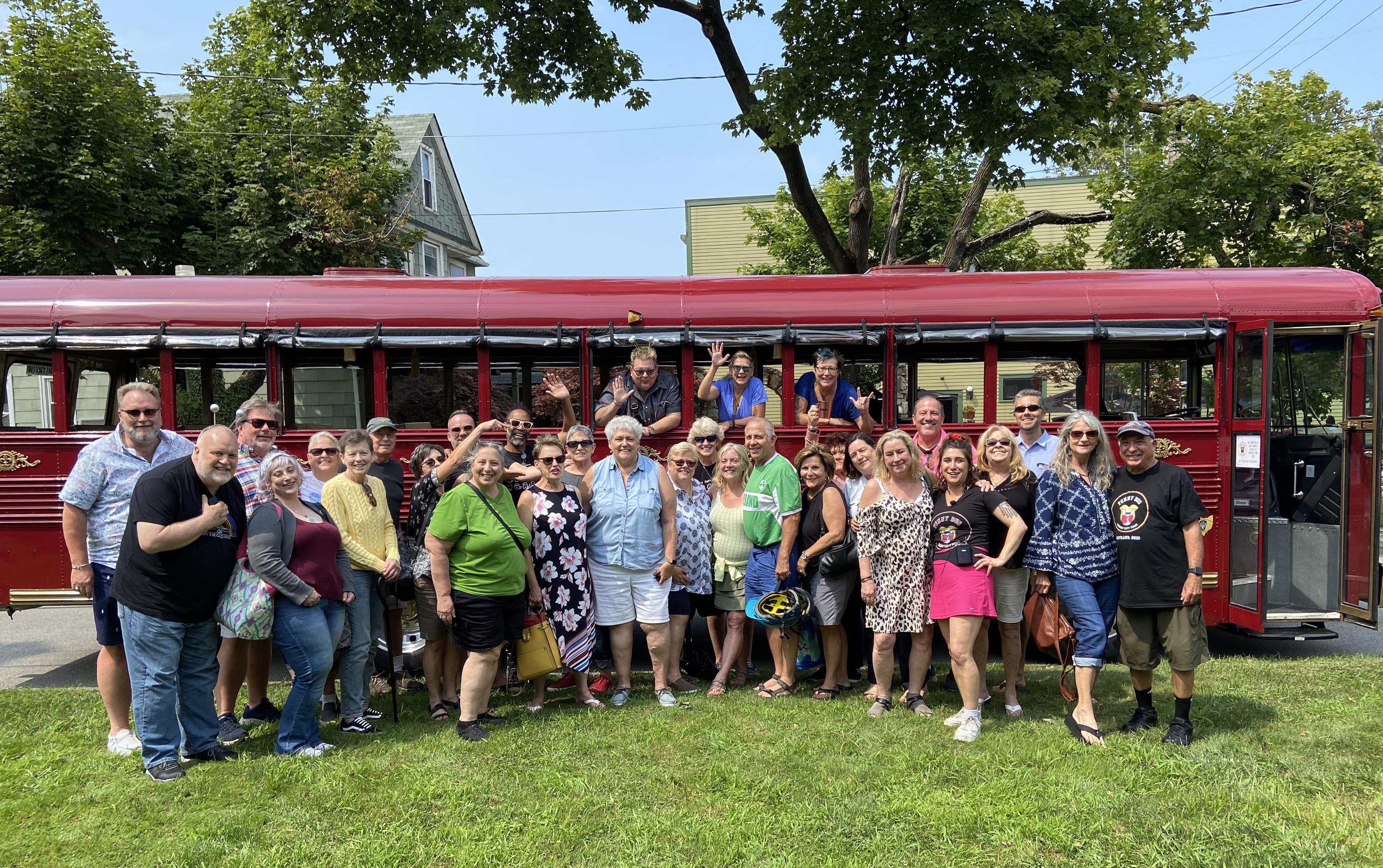 Funny Bus Cleveland private tours are amazing.