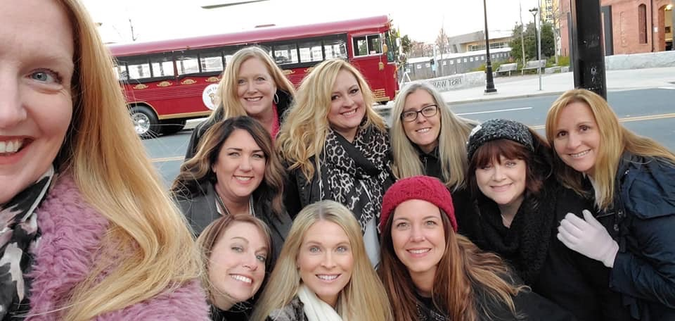 Girls Night Out on the Funny Bus